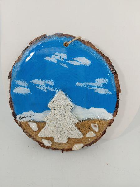 Love this Beach - Christmas tree ornament 1095-4