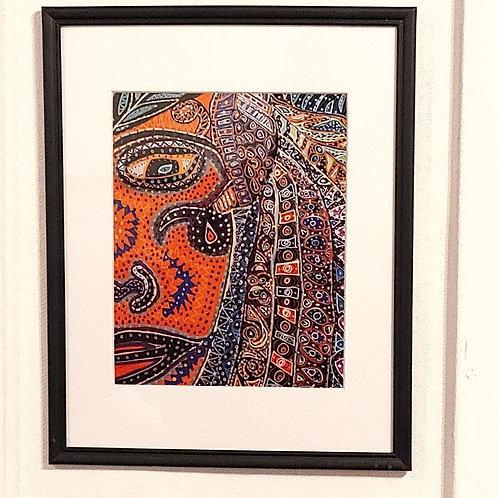 Tribal Woman by Annie