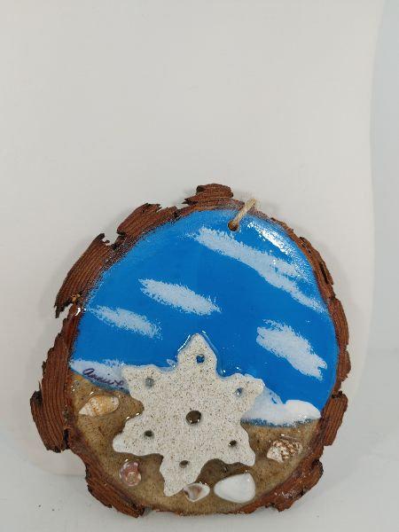 Love this Beach - Snowflake ornament 1095-6