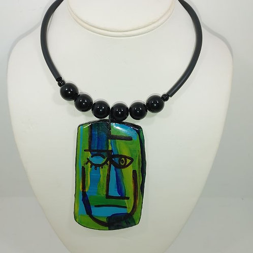 Necklace Green with envy
