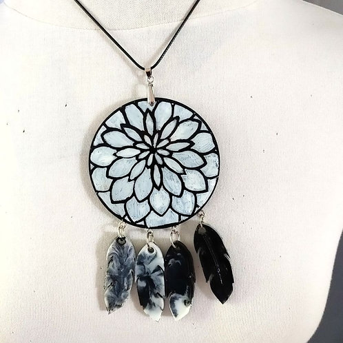 Necklace Feathers