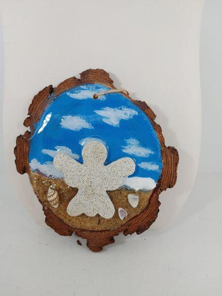 Love this Beach - Angel ornament 1095-7