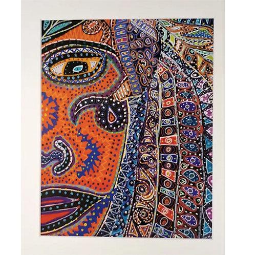 Print 8x10 - Tribal Woman