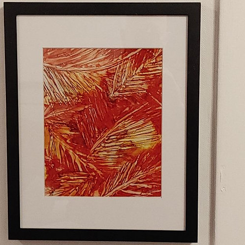 Print 8x10 - Burning embers