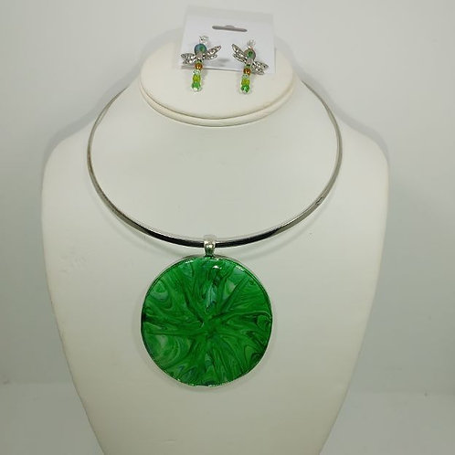 Necklace - Lime explosion