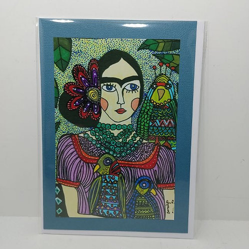 Frida in Purple by Annie