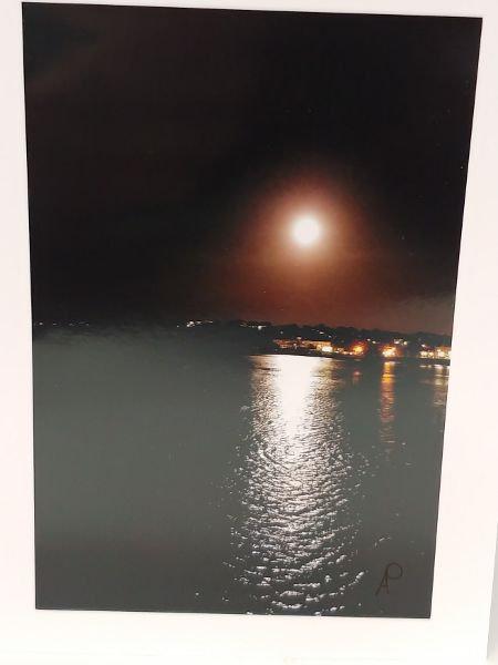 Notecards Hazy moonlight