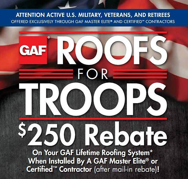 U.S, Active, Military, Veterans, Roofs, Troops, Retirees, Rebate, Lifetime Roofing, GAF, Master Elite, Regal Construction, Construction, Home building, construction, contracting, kitchen remodel, bathroom remodel, home addition, new home, house, build house, contractor, Windows, window, window replacements, roofing, new roof, roof repair, gaf, gaf certified, angie's list, better business bureau, Bbb certified, bni, angies list, licensed, bonded, insured, build, home repair, roof maintenance, New Castle, Muncie, 47362, Henry County, Delaware County, Indiana, Central Indiana, East Central Indiana, Roofing