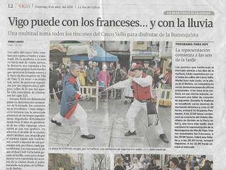 La prensa se vuelca con nosotros en la Reconquista