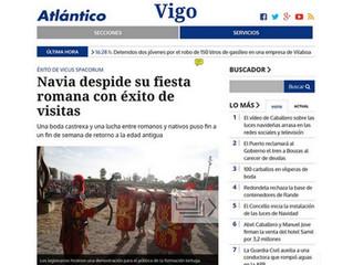 Falcata HEMA en prensa con Vicus Spacorum VII