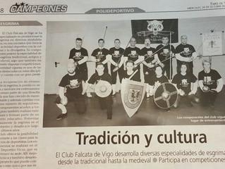Faro de Vigo - Campeones