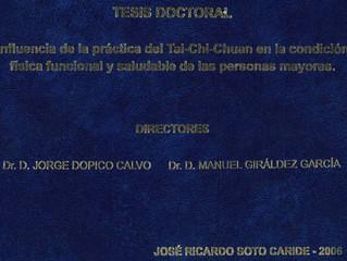 Tesis Doctoral: Influencia de la práctica del Tai-Chi-Chuan en la condición física funcional y salud