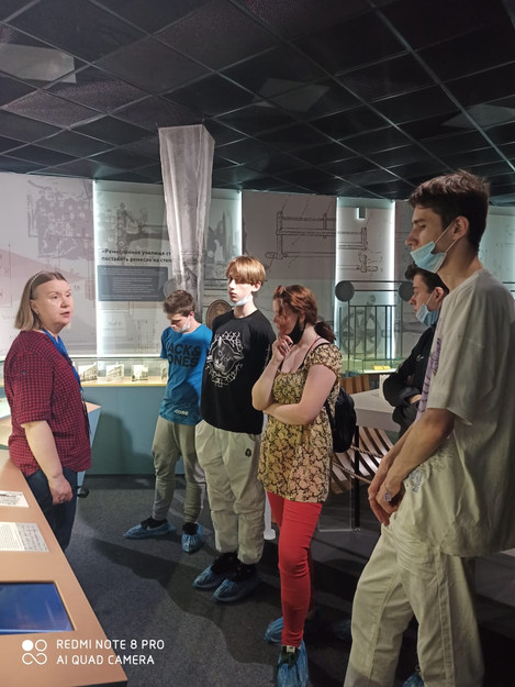 Экскурсия в Санкт-Петербургский музей истории профессионального образования