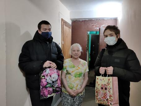 Поздравление жительницы блокадного Ленинграда