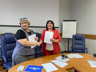 Встреча в Калининградской области с партнерами