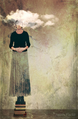Philosopher tall head clouds 18th FLAT