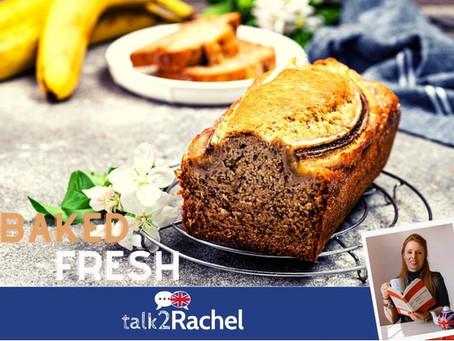 Banana Loaf Cake - A British Recipe!