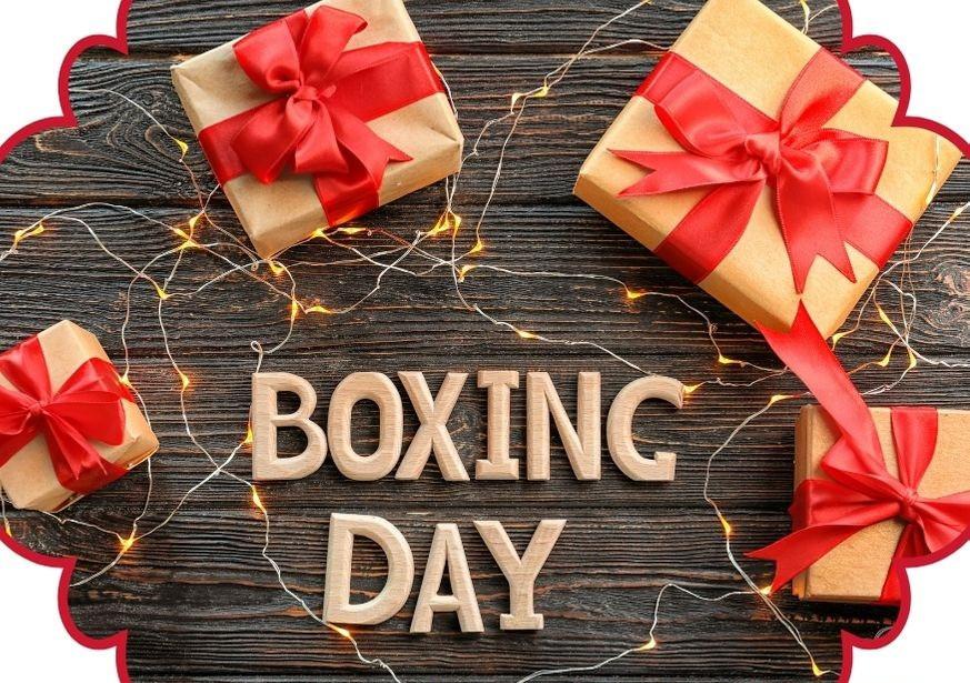 Boxing Day - caixas de presentes