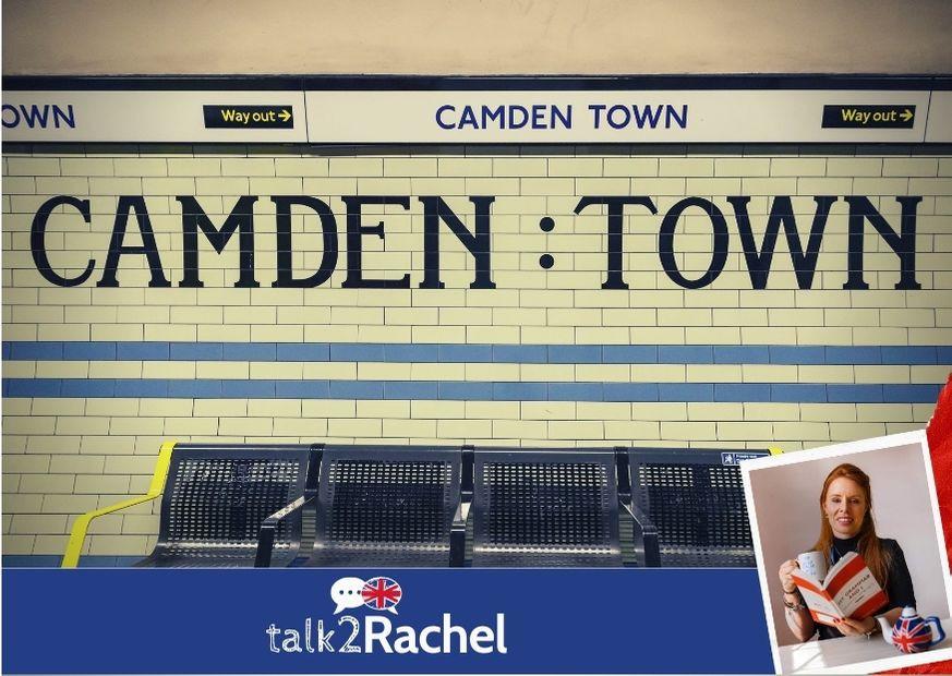 Foto da estação de metrô de Camden
