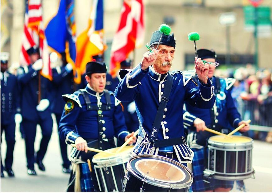 Desfile anual em Nova Iorque para comemorar São Patrício