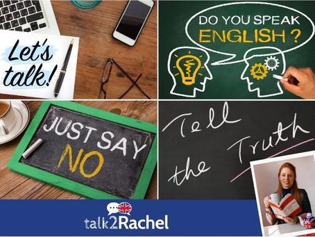 SAY, SPEAK, TELL and TALK! Como usá-los?