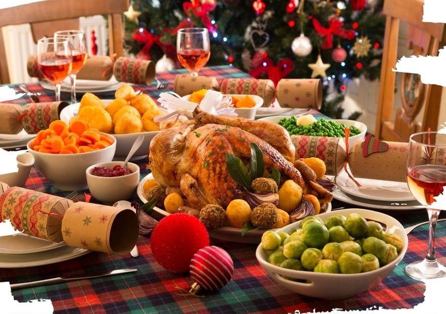 Ceia de Natal na Inglaterra
