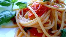Gli spaghetti al pomodoro