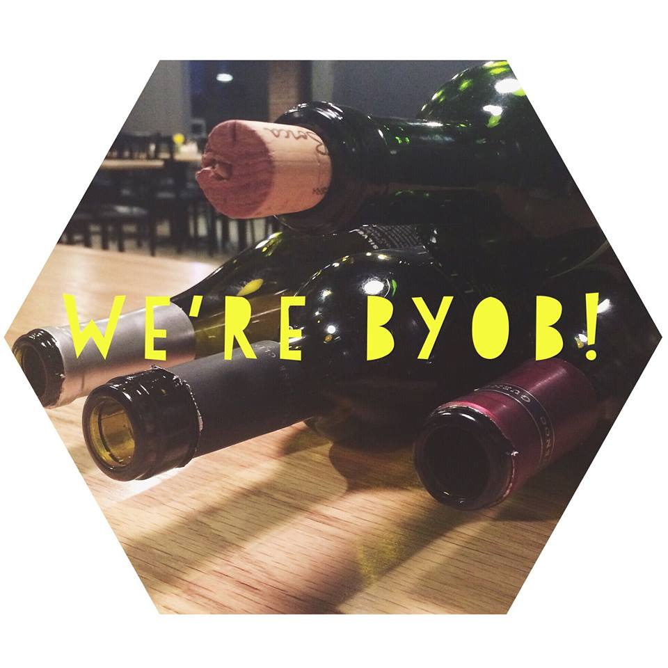 We're BYOB!