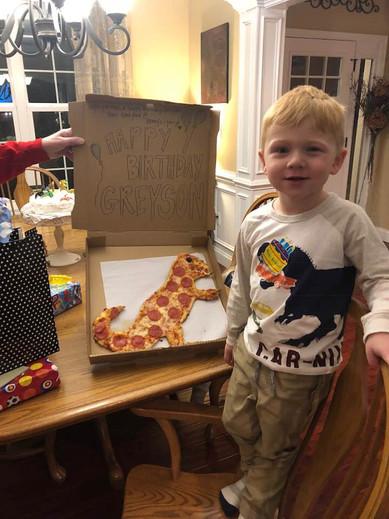 Greyson's Dinosaur Birthday Party