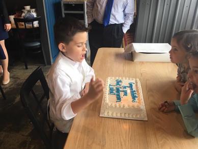 Luka's First Communion