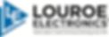 louroe_logo_FINAL_Full Color BLACK outli