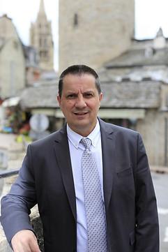 Laurent SUAU Maire      de Mende Président de la Communauté de communes Cœur de Lozère