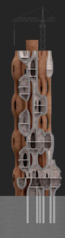 vernacular tower