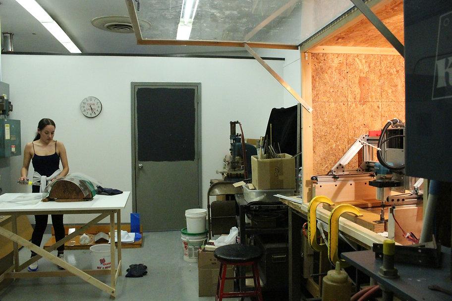 CNC shop