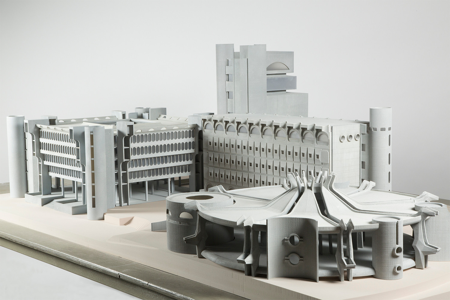 3D printed architectural model for MoMa