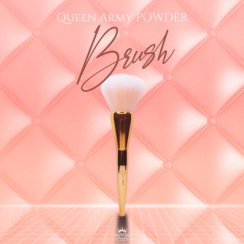 Queen Army Powder Brush