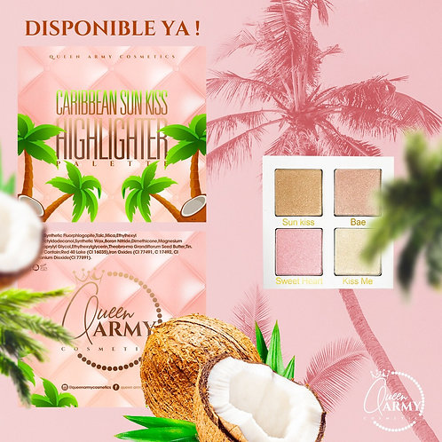 Caribbean Sun Kiss Highliters Palette