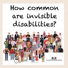 #FAQ No.5 how common are invisible disab