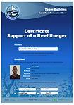 Certificate Reef Ranger Peter Musila.jpg