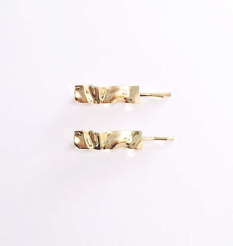 Gold French Hair Clip