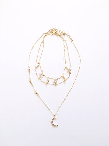 Celestial Choker and Necklace Set