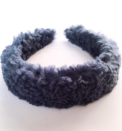 Blue Teddy Headband