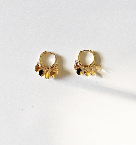 Shaker Gold Plated Earrings