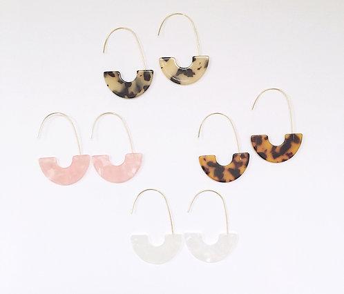 Acrylic Wire Earrings