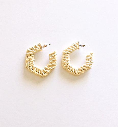 Rattan Earrings
