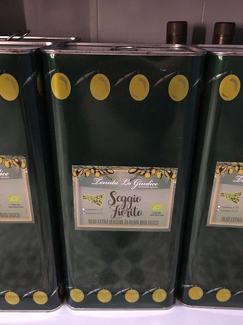 Olivenöl extra vergine biologico, 5 Liter