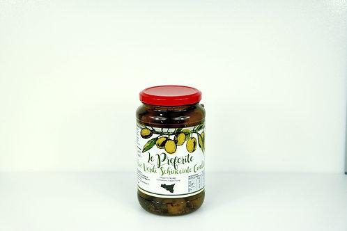 Oliven, grün, 'Le Preferite' 580 g
