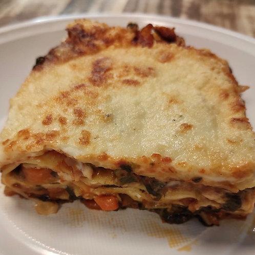 Lasagne mit vegetarischem Ragú (a, c, g, l, o)