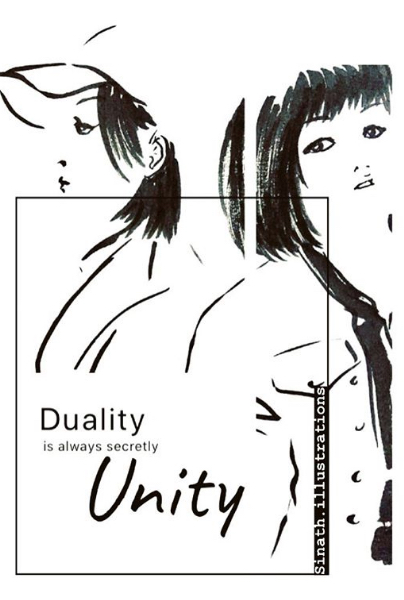 Duality by SInath Illustrations SB colle