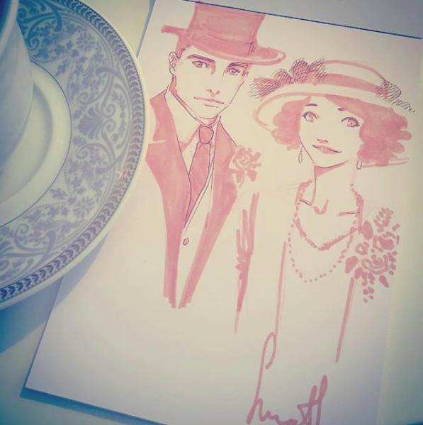 Monsieur et Mademoiselle_by Sinath illus